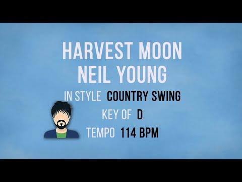 Harvest Moon - Neil Young - Karaoke Male Backing Track