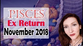 "PISCES, ""OMG FINALLY COMMUNICATION "" NOVEMBER 2018 EX RETURN LOVE/SOULMATE READINGS"