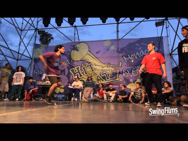 Fack vs Dora - BBoy 1v1 - Hit tha Beat 2013 - Top 16 Travel Video