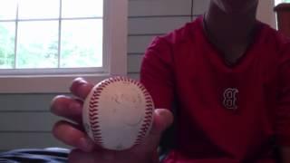 Autographed baseballs for sale