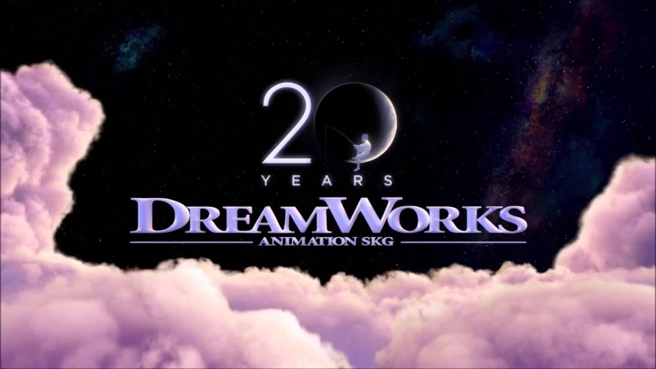 dreamworks animation 20th anniversary logo youtube