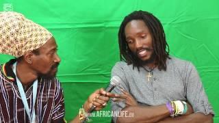 Videointerview, Kabaka Pyramid @ Reggae Jam 2014, 01.-03.08. Bersenbrück