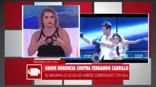 Grave denuncia contra Fernando Carrillo