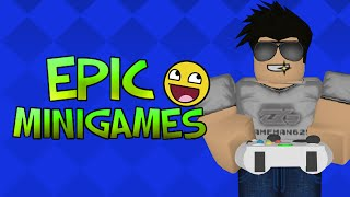 Roblox Epic Minigames Stupid People