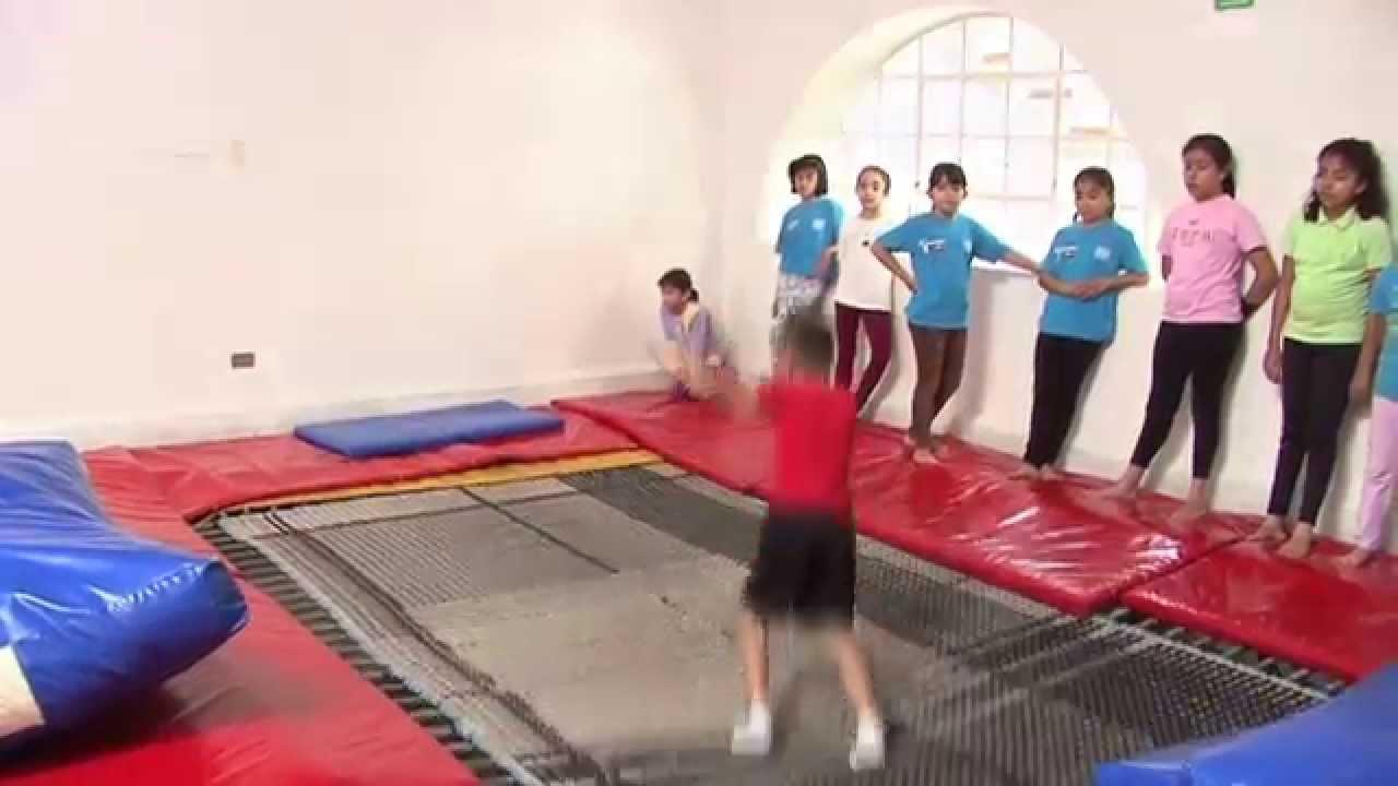 gimnasia para niños en puebla