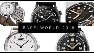 Baselworld 2018 Releases from Seiko Oris Longines Breitling Tissot and more!