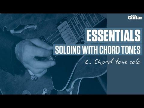 Essentials guitar lesson: Chord tone solo (TG239)