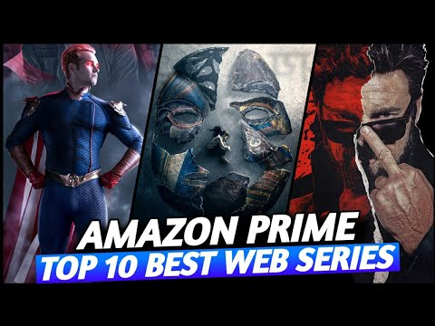 Top 10 Best Web Series on Amazon Prime Video in hindi // Hollywood web series in hindi dubbed