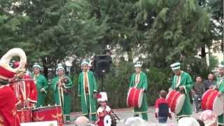 A Turkish Wedding with Mehteran Band in Denizli, Turkey, 10/28/2012