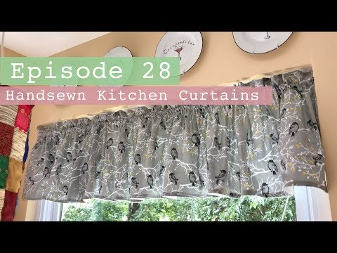 How to sew a curtain valance | Easy Curtains | Sewing Curtains