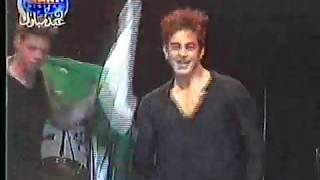 Shaan Shahid on Stage at Millan 2004 London - Tere Bina Dil Na Lage Pakistan (Faakhir's Song)