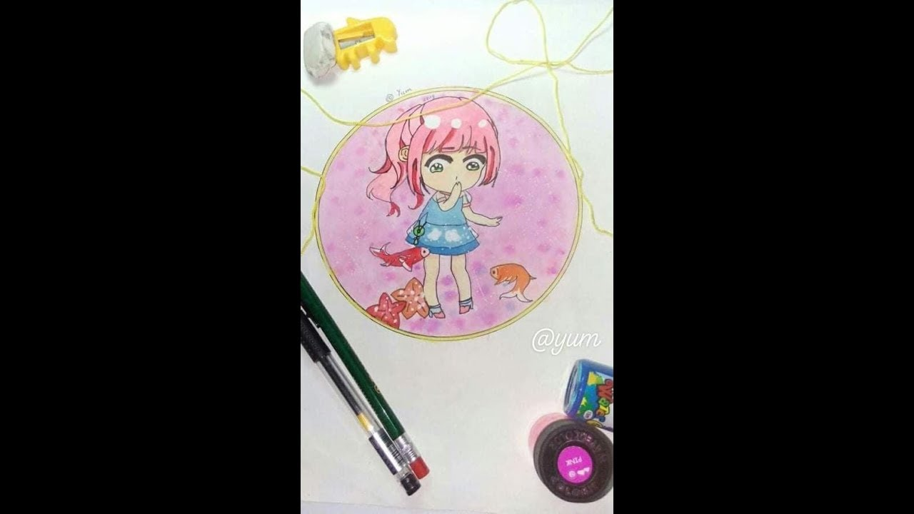 [Seed drawing] Vẽ chibi Anime cute