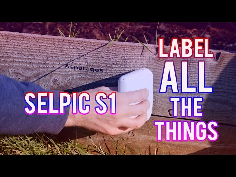 Label All The Things, with Selpic S1 Portable Printer