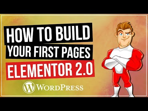 Elementor 2.0 for WordPress: Building Your First Pages 2018 Update - 동영상