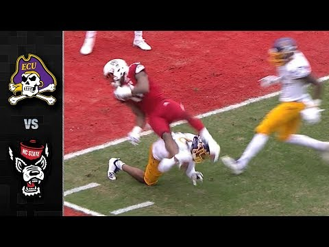 East Carolina vs. NC State Football Highlights (2018)