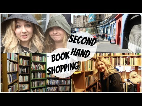 Second Hand Book Shopping In Edinburgh | Tips & Tricks With #BookBreak