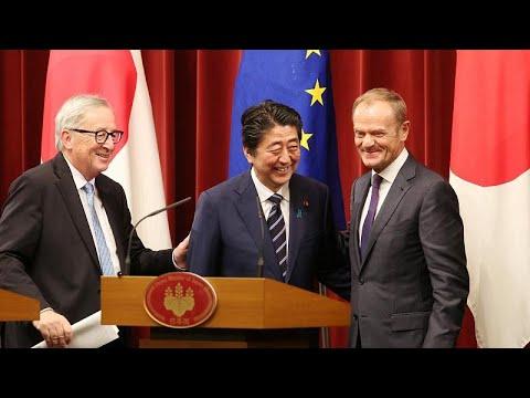 Acordo UE-Japão tenta travar escalada protecionista