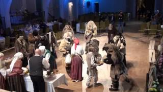 00168 XVIII Starptautiskais masku tradīciju festivāls. Rīga. Ziemeļblāzmas k/p. 25.02.17.