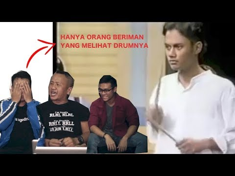 INDONESIAN DRUMMERS REACT TO MALAYSIAN DRUMMER