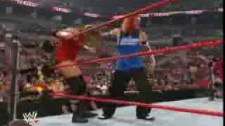 WWE: Edge spears Batista or Batista spears Edge