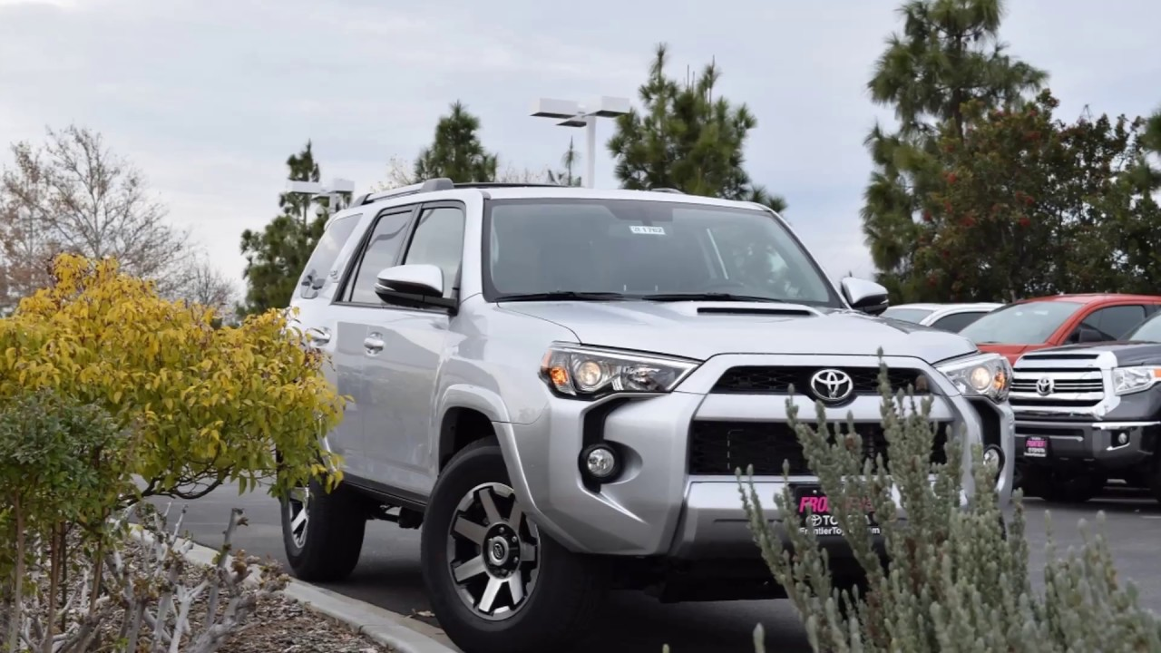 2017 Toyota 4runner Trd Off Road First Look