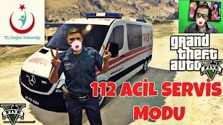 GTA 5 KEZBAN 'IN KOMŞUSUNUN OĞLU AMBULANS SOFÖRÜ 112 ACİL SERVİS MODU  #59