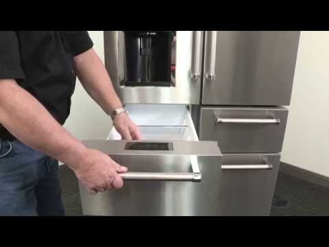 KitchenAid KFXS25RYMS Refrigerator Review   YouTube