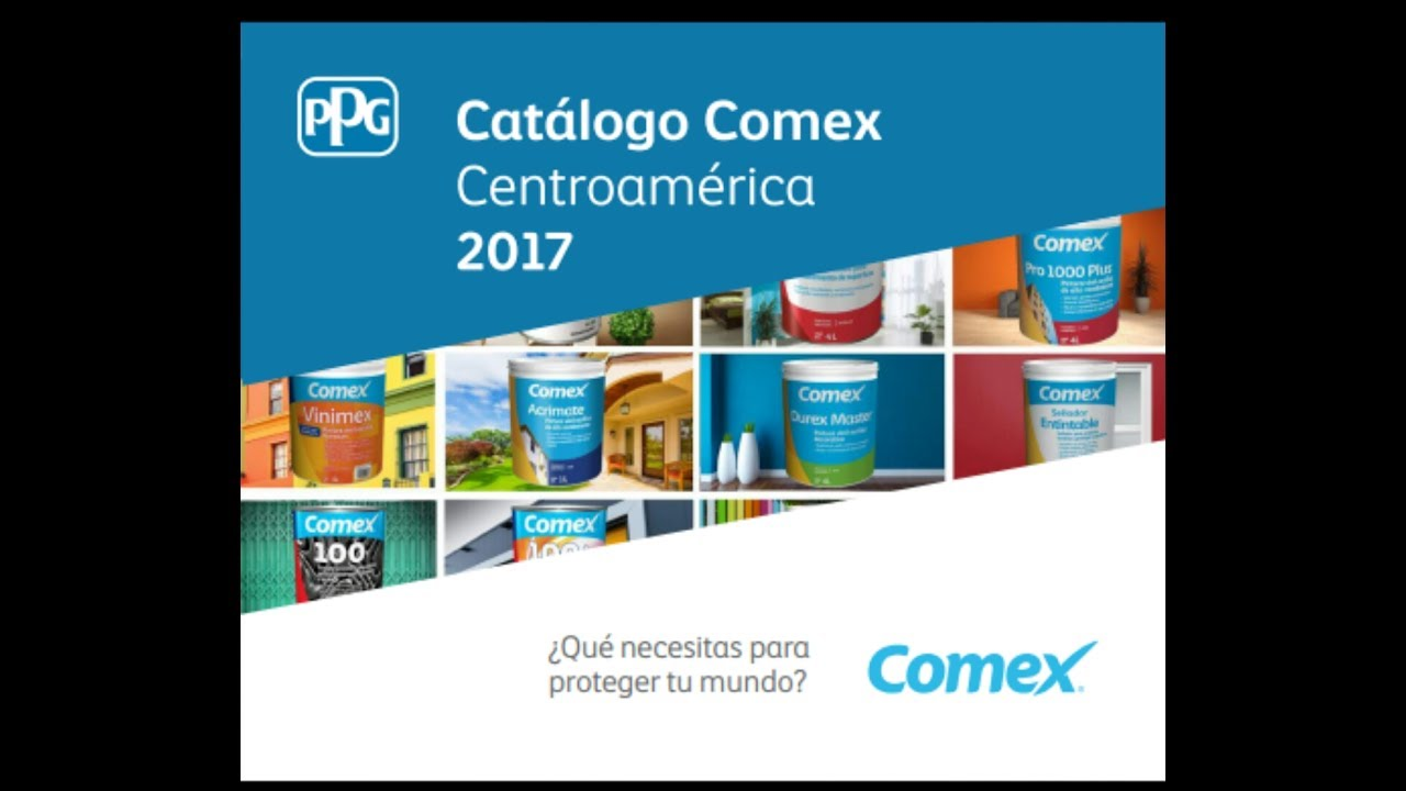 Catalogo Comex 2017 Youtube