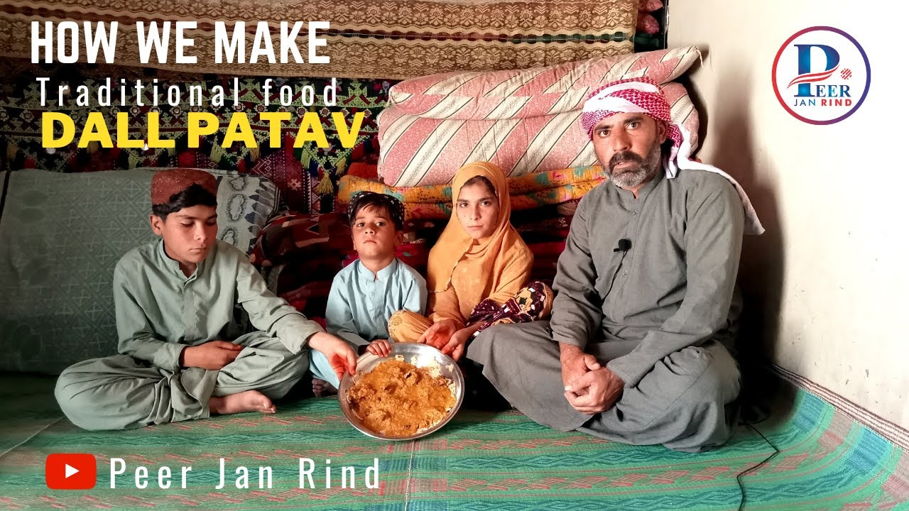 How we make traditional food Dall Patav [ Peer Jan Rind ]