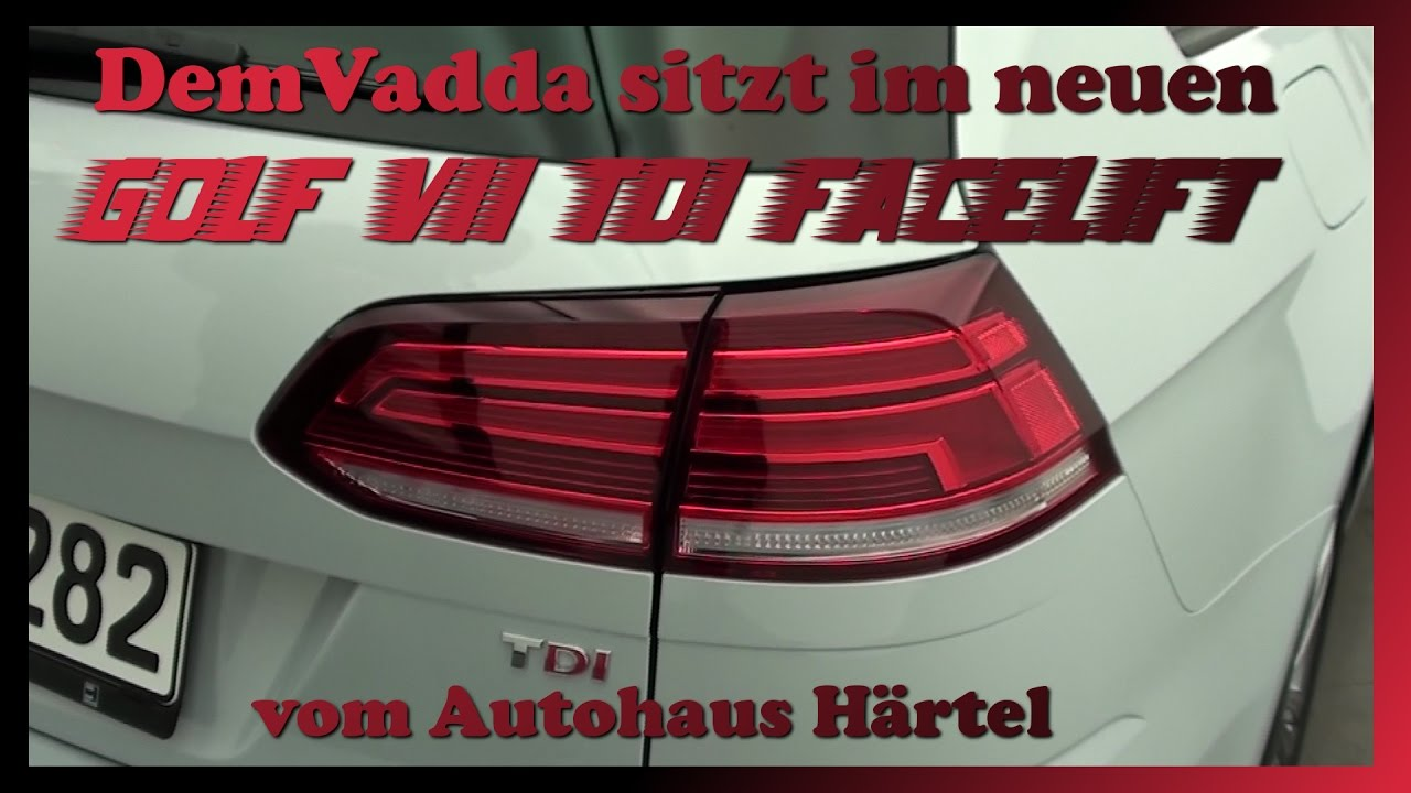 neues facelift golf vii vom autohaus h rtel teil 1 2 muhaaaa so geil demvadda youtube. Black Bedroom Furniture Sets. Home Design Ideas