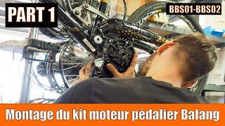 montage du kit moteur pédalier 8FUN BBSS01 et BBS02 par OZO - Part 1/2