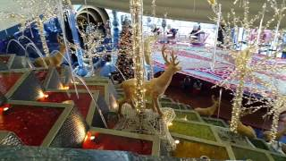 Christmas Decorations at Burj Al Arab Hotel in Dubai 12.12.2016