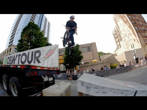 Portland Dew Tour - Streetstyle Practice Video