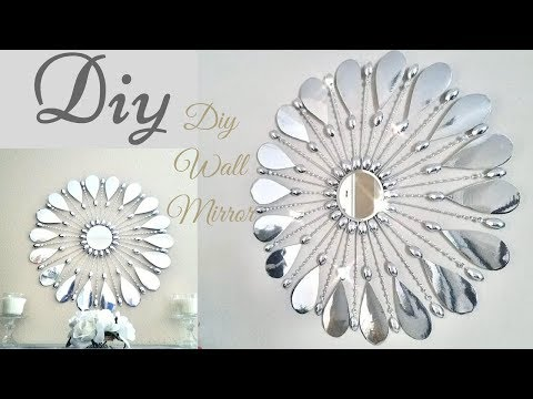 Diy Simple and Inexpensive Glam Wall Mirror Decor!