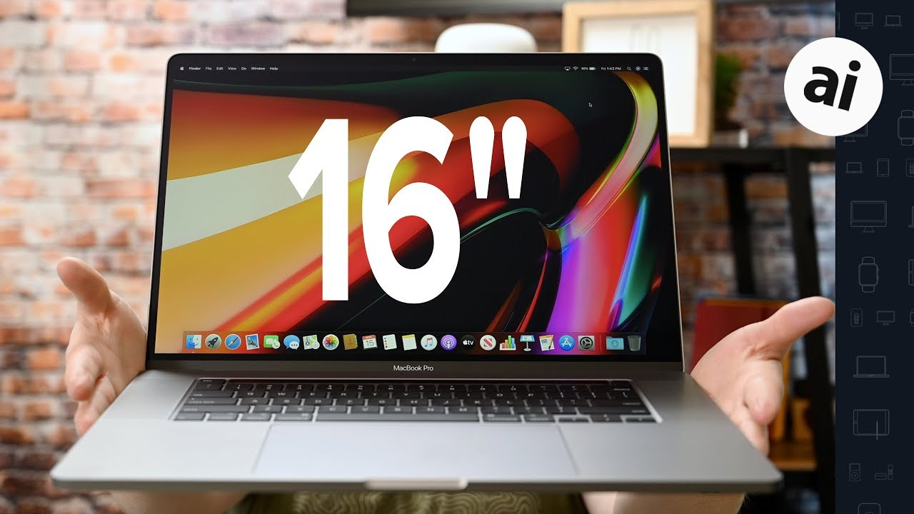 16-inch MacBook Pro Review: Apple Finally Listens - YouTube