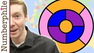 The Four Color Map Theorem - Numberphile