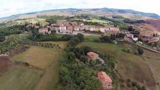 Италия, Тоскана - вид сверху