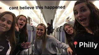 we turn into city girls | philly vlog