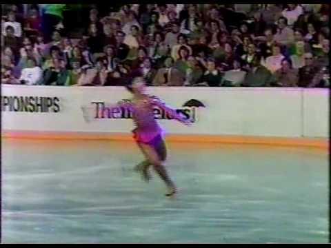 Tiffany Chin 陳婷婷 - 1985 U.S. Figure Skating Championships, Ladies' Long Program