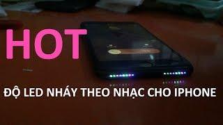 Đèn Led Nháy Theo Nhạc iPhone Siêu Phẩm dành cho iFan