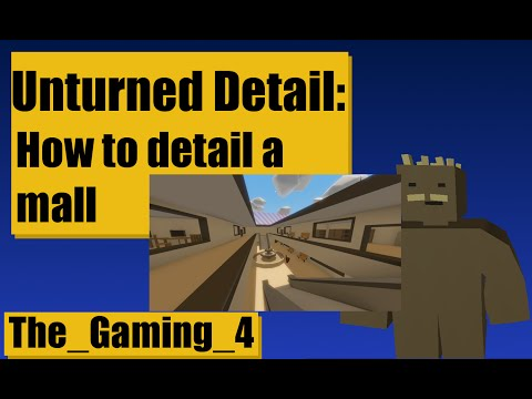 Unturned Map Editor: How to detail a mall