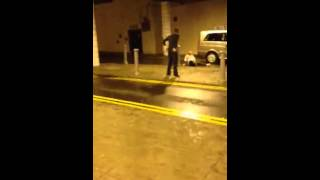 Glasgow drunk fights Taxi Driver!