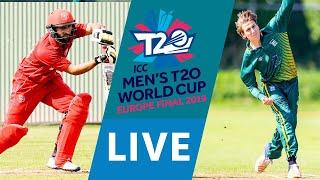 LIVE CRICKET: ICC Men's T20 World Cup Europe Final 2019 - Denmark vs Guernsey Match starts 10.45 BST