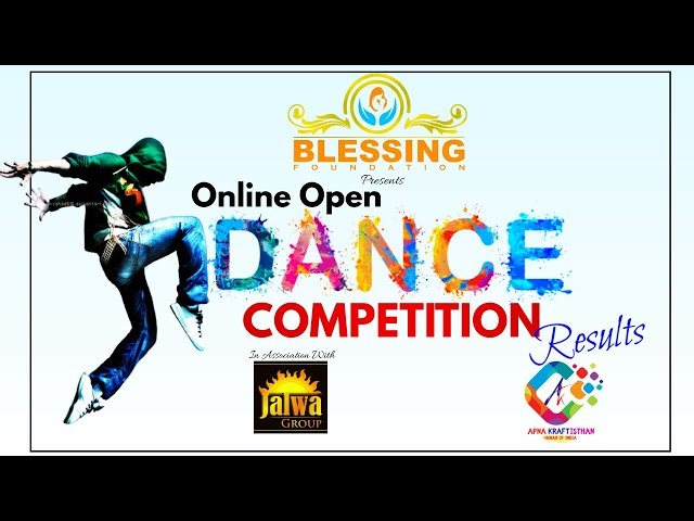 Winners of Open Online Dance Competition