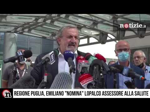 """Regione Puglia, eletto l'esperto covid Lopalco: Emiliano lo """"nomina"""" assessore alla Salute"""