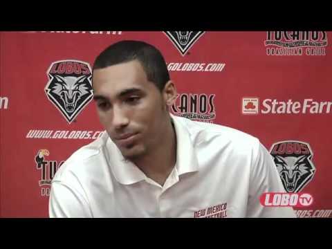 2011-12 Lobo Men's Basketball | Media Day Interview - Drew Gordon