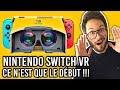 La VR officialisée sur Nintendo Switch, et ce n'est que le début ! Mes infos