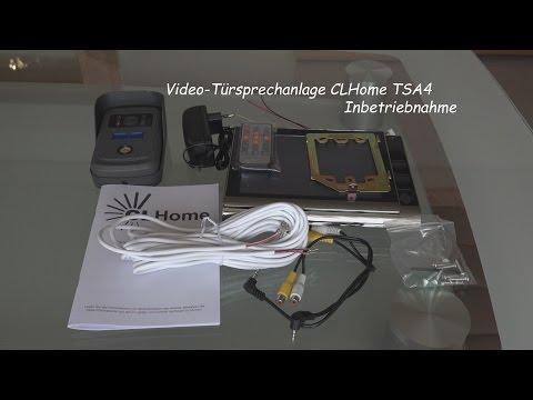 Video Türsprechanlage TSA4 CLHome Inbetriebnahme 2016, von tubehorst1