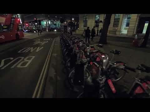 Smooth Real-Time Walking Point of View from Green Park Tube Station to  Trafalgar Square London,