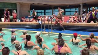Sia ~ Move Your Body. Aqua class from the ZUMBA CRUISE